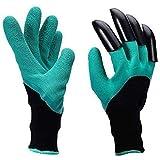 Garden Genie Gloves, Waterproof Garden Gloves with Claw for Digging Planting, Best Gardening Gifts