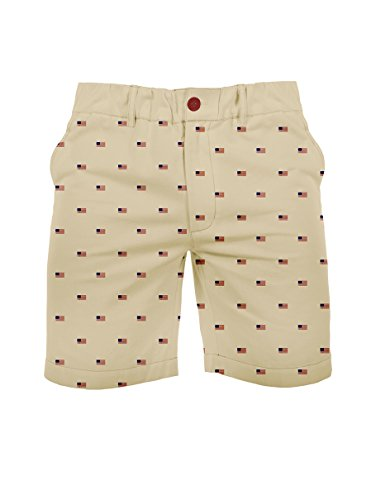 Tipsy Elves American Flag Shorts - Patriotic USA Flag Shorts for Men