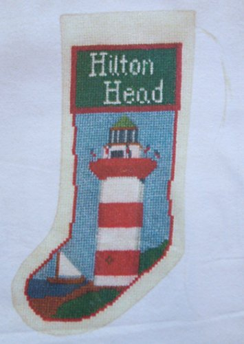 Hilton Head Lighthouse Stocking Ornament Posy Counted Cross Stitch (Hilton Head Collection)