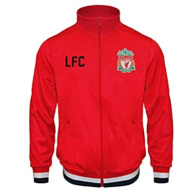 Liverpool Football Club Official Soccer Gift Boys Retro Track Top Jacket
