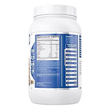 Nutrex Research IsoFit 100 Instantized Whey Protein Isolate Lactose-Free, Gluten-Free Peanut Butter Toffee 30 Servings