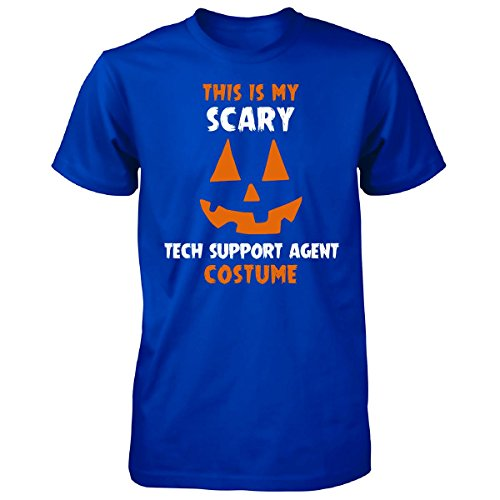 [This Is My Scary Tech Support Agent Costume Halloween Gift - Unisex Tshirt] (Tech Support Halloween Costume)