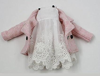 Amazon.com: Studio One Sweet blanco vestido de encaje y rosa ...