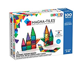 Magna-Tiles Clear Colors 100 Piece Set (B000CBSNRY) | Amazon price tracker / tracking, Amazon price history charts, Amazon price watches, Amazon price drop alerts