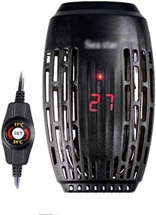 ミニ水槽ヒーター、LEDデジタル温度表示付き小型魚タンクヒーター、Betta Frogs Newts Turtle用の外部温度コントローラー