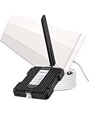 Amazboost A1 Cell Phone Booster for House and Remote Area-Up to 3,000 sq ft-Support All Canadian Carriers-Bell, Telus, Rogers, Fido, Sasktel, MTS Etc - 2G/3G/4G LTE Cell Signal Booster