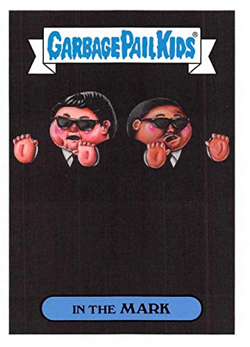 2019 Topps Garbage Pail Kids We Hate the '90s Films Sticker B-Names Non-Sport #13 IN THE MARK Collectible Trading Card Sticker (Men in Black)