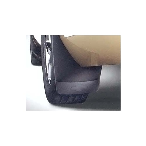GM # 19212823 Splash Guards - Rear Molded Set - Black Grained with Chevy Bowtie Logo