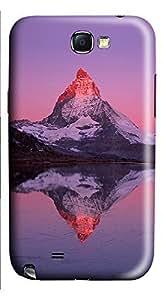 Samsung Note 2 Case Landscapes Matterhorn 3D Custom Samsung Note 2 Case Cover