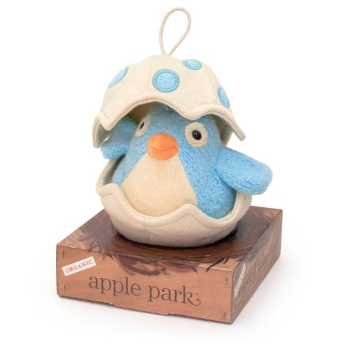 Apple Park Musical Baby Bird, Blue