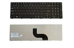 New Laptop Keyboard for Gateway NV53A NV53A24u NV53A52u NV53A75u NV53A08u US layout Black color