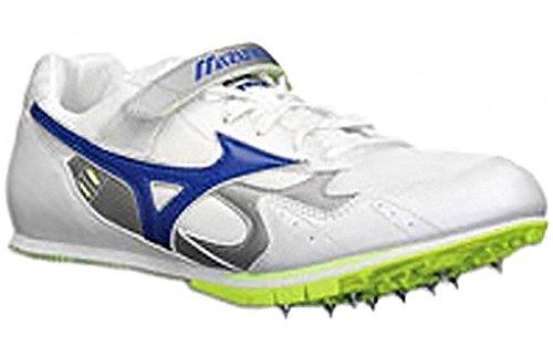 Mizuno - zapatillas para salto a distancia Unisex adulto Multicolor - Bianco/Bluette Elettrico