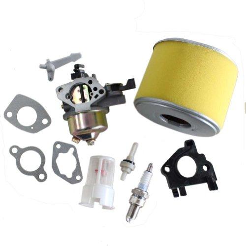 New Pack of Carburetor Air Filter Gaskets Spark Plug Kits fit for (Plug Carburetor)