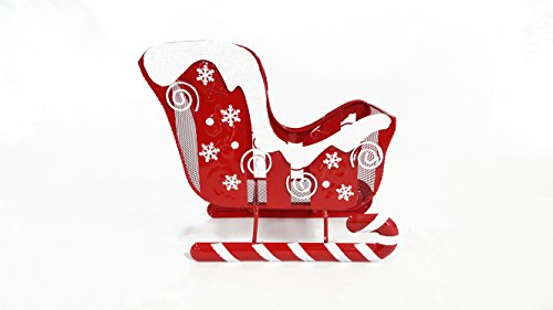 Small Christmas Sleigh Basket