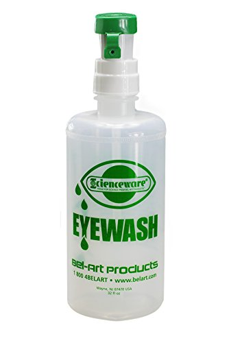 Bel-Art F24851-0000 Emergency Eye Wash Safety Stations Bottle Refill, 500ml by SP Scienceware