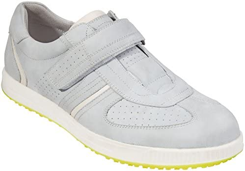 Southport Men's Golf Shoes Spikeless SX8760 (Silver Grey, 7.5)
