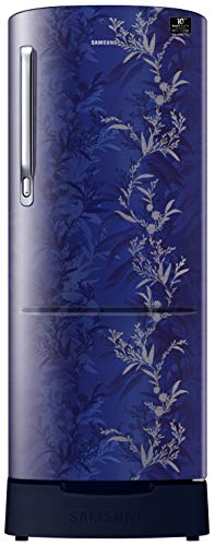 Samsung 230 L 3 Star Inverter Direct-Cool Single Door Refrigerator (RR24T285Y6U/NL, Mystic Overlay Blue)