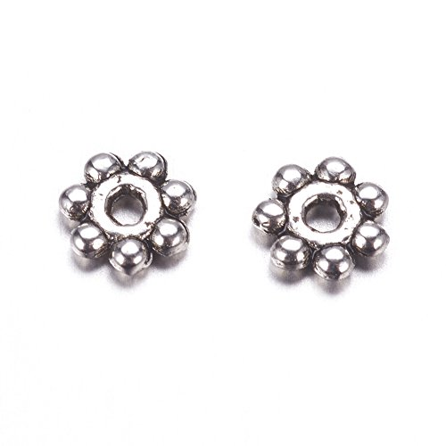 Bali Daisy Spacer Beads - 3