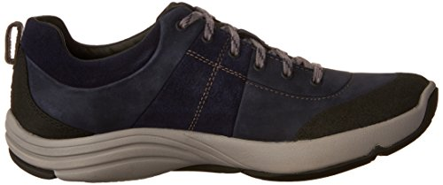 Clarks Women's Shoe Andes Wave Nubuck Navy Walking wTO1Hqw