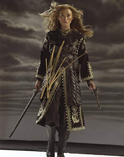 Kiera Knightley PIRATES OF THE CARIBBEAN WORLDS END In Person Autographed Photo ()