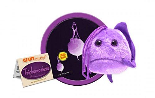 GIANT MICROBES Trichomoniasis (Trichomonas Vaginalis) Plush Toy