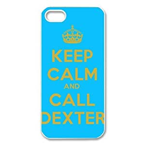 Stylish Hot Custom Dexter Pattern TPU+PC Case Cover for Apple iphone AT&T / Verizon 5 5g 5gs