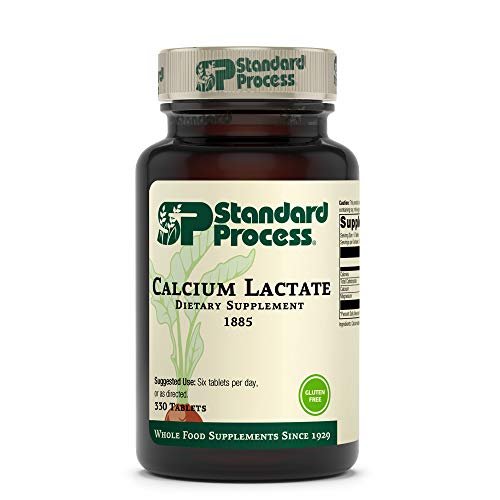 Standard Process Calcium Lactate – Immune Support and Bone Strength – Bone Health and Muscle Supplement with Magnesium…