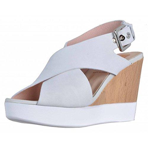 Humat Sandalias y Chanclas Para Mujer, Color Blanco, Marca, Modelo Sandalias Y Chanclas Para Mujer Gavino Blanco Blanco