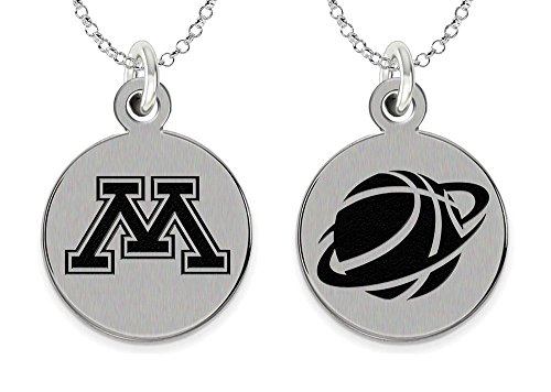 Minnesota Golden Gophers Basketball Charm and Jewelry ()