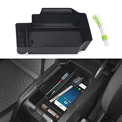 VANJING Center Console Insert Organizer Tray Replacement Compatible for 2015-2020 Chevy Colorado GMC Canyon Accessories with A Cleaner Brush: Automotive