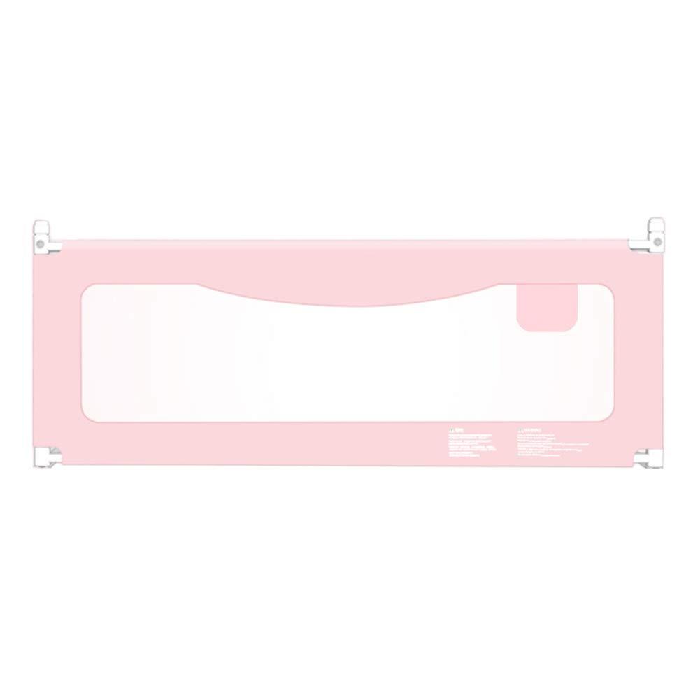 ベッドフェンス, ガードベビーベッドレールFVerticalリフト幼児安全な背の高いベッドガードレール幼児/子供/子供、ピンク色、丈夫で固体 (サイズ さいず : 200cm) 200cm  B07K46198L