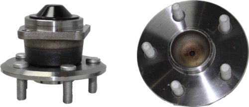 (Brand New (Both) Rear Wheel Hub and Bearing Assembly for Toyota Celica, Corolla, Matrix; Pontiac Vibe 5 Lug W/o ABS (Pair) 512216 x2)