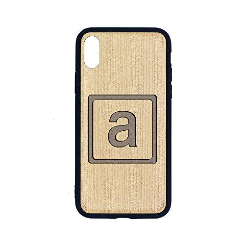 (Aprilia 3 2 - iPhone Xs CASE - Maple Premium Slim & Lightweight Traveler Wooden Protective Phone CASE - Unique, Stylish & ECO-Friendly - Designed for iPhone Xs)