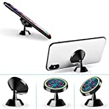 Magnetic Car Phone Holder Strawberry Figure 360 Degree Rotating Stand Grip Mount for iPhone X / 8/8 Plus 7/7 Plus / 6s / 6 / Galaxy S8 / S7