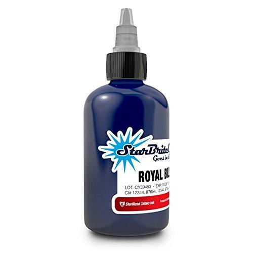 StarBrite Colors Sterilized Tattoo Ink Royal Blue 1 oz]()