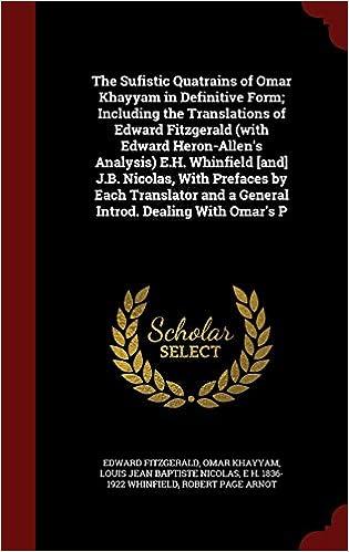 rubaiyat of omar khayyam analysis