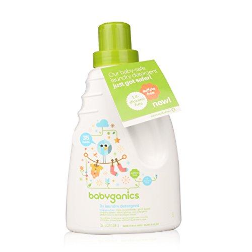 Babyganics Baby Laundry Detergent - Fragrance Free - 35 oz