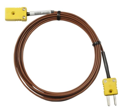 - Dickson A202 Extension Cable for K-Thermocouple Probes, 100' Length, Male and FeMale K-TC Connectors