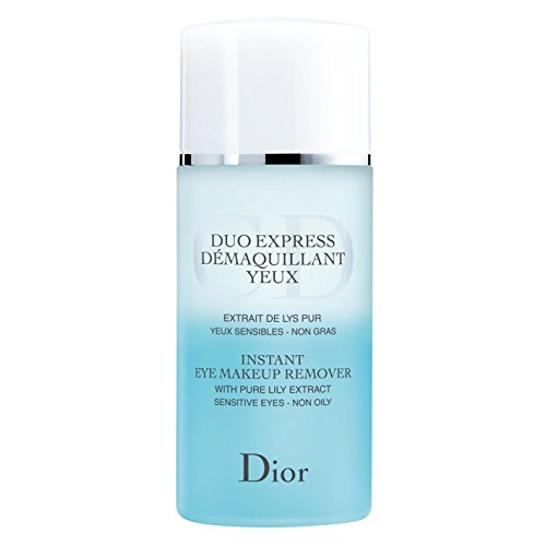 (Dior Instant Eye Makeup Remover 125ml - Pack of 2 )