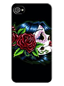 iphone covers Beautiful It Skull Iphone 6 4.7 Hard Back Shell Case Cover desire Skin for Iphone 6 4.7 Cases - Beautiful Skull oranges Background image #7