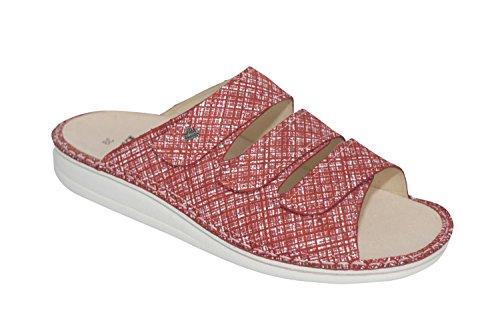 Finn Comfort - Zuecos para mujer rojo Geranium *