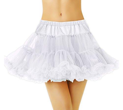 Full Petticoat White - Adult Standard