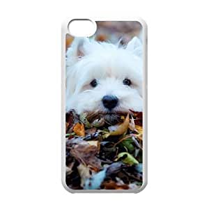 iPhone 5c White Cell Phone Case Cute Westie pup KVCZLW0477 Custom Customized Phone Case Cover
