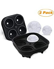 Gifort Ice Cube Trays, Ice Cube Moulds, Ice Cube Maker, 3 Pack Silicone Ice Cube Tray for Candy Pudding Juice Mold, Baby Food Or Cocktail Whiskey