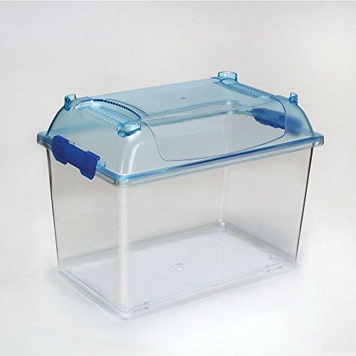 Clear-View Plastic Aquarium/Terrarium, ()