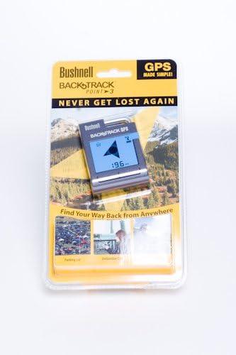 B003VMXX7G Bushnell Backtrack Point-3 Personal GPS Locator (Gray) 41SqBQgowgL.