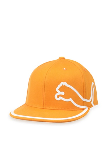 PUMA Men's Monoline 210 Fitted Cap,Orange, Large/X-Large