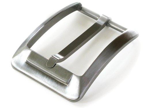 Men's Titanium Buckle - Nickel Smart - 1⅜ Inch Nickel Free Belt Buckle with Brushed Satin Finish