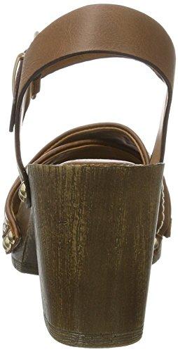 Sandalias Banani Marrón Mujer Cognac 779 Bruno 283 Fpwq0OOR