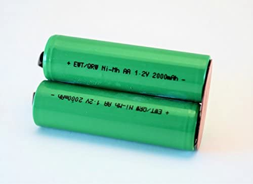 AKKU 2000mAh 2,4V Ni-MH für Philips Philishave HQ5846 HQ5847 HQ5850
